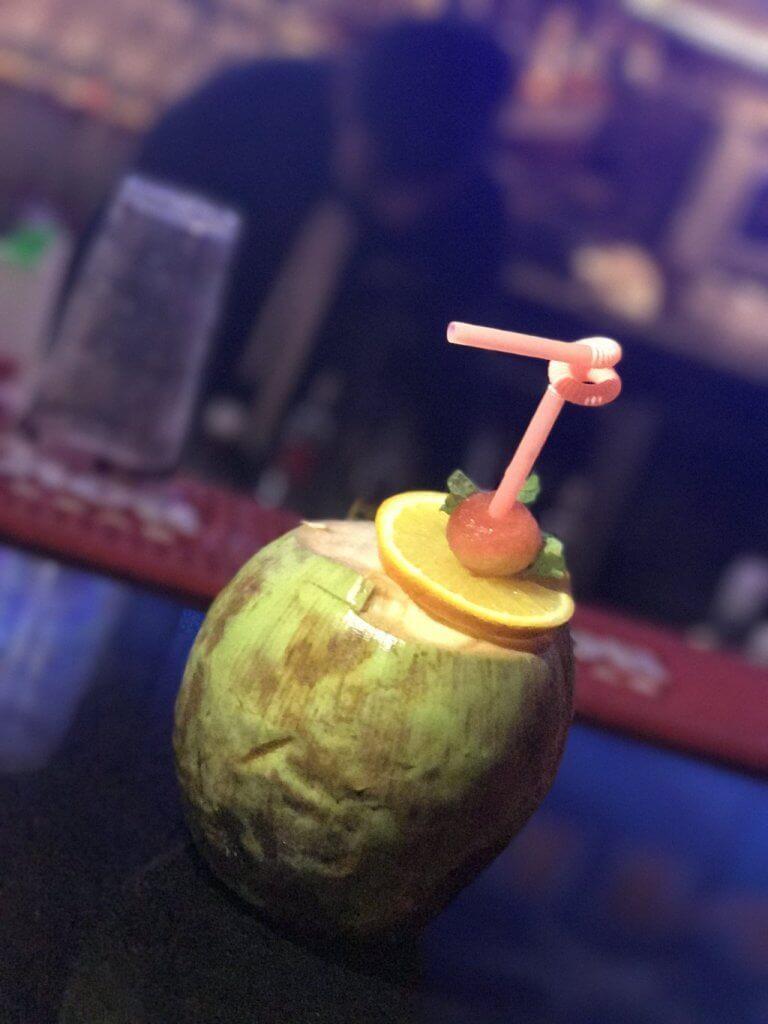 Sharabi Nariyal Cocktail at Dockyard Cafe