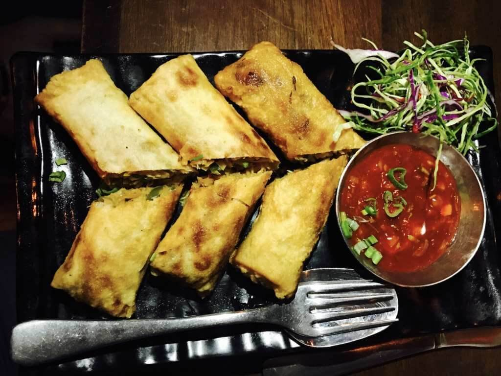 Thai Spring Rolls at Jail - Behind the Bar